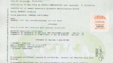 Certificati di iscrizione al Registro Imprese / REA | Camera di ...