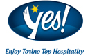 Logo del progetto Yes! Enjoy Torino Top Hospitality