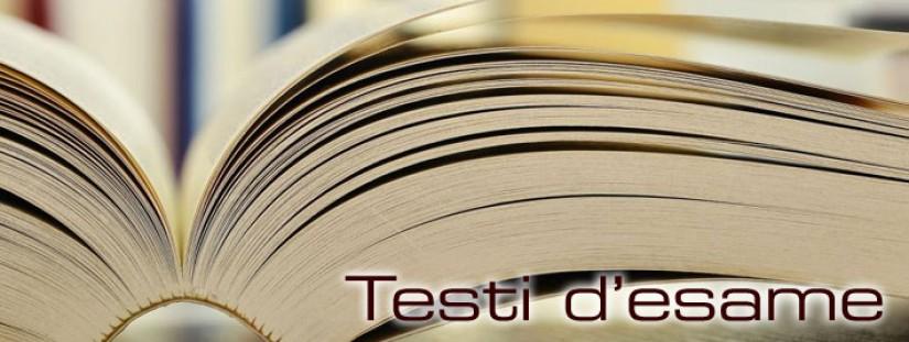 Testata testi d'esame